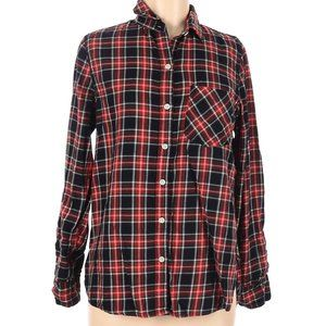 Old Navy Cotton Plaid Button Down Shirt